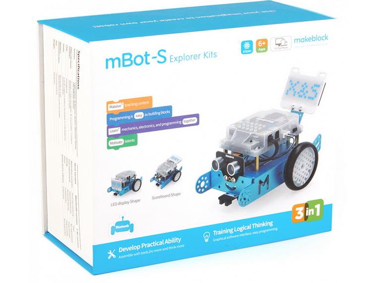 Электронный конструктор Makeblock mBot S-упаковка коробка