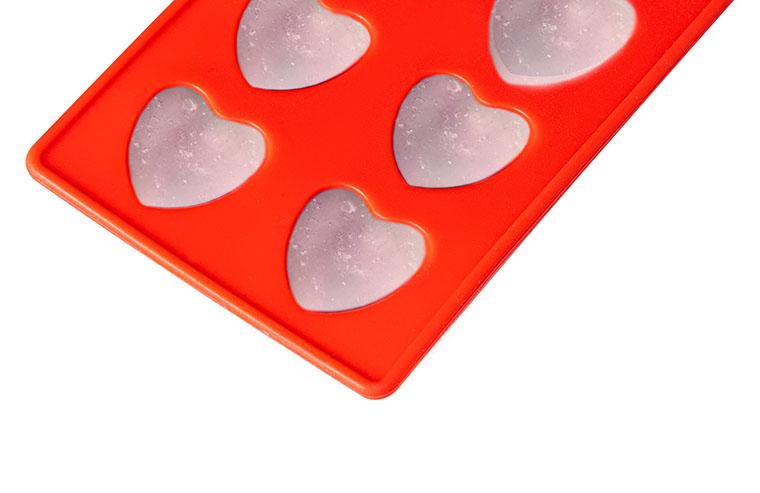 Форма для льда Krauff сердечки