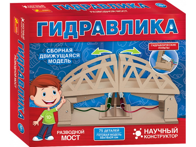 Конструктор из природных материалов Ranok-Creative-Разводной мост.