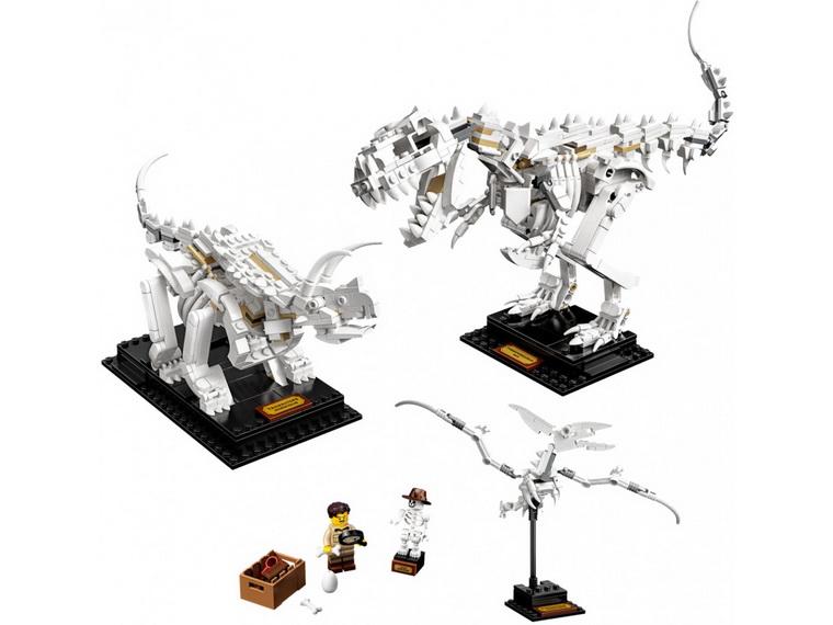 Конструктор LEGO Ideas Останки динозавра-21320