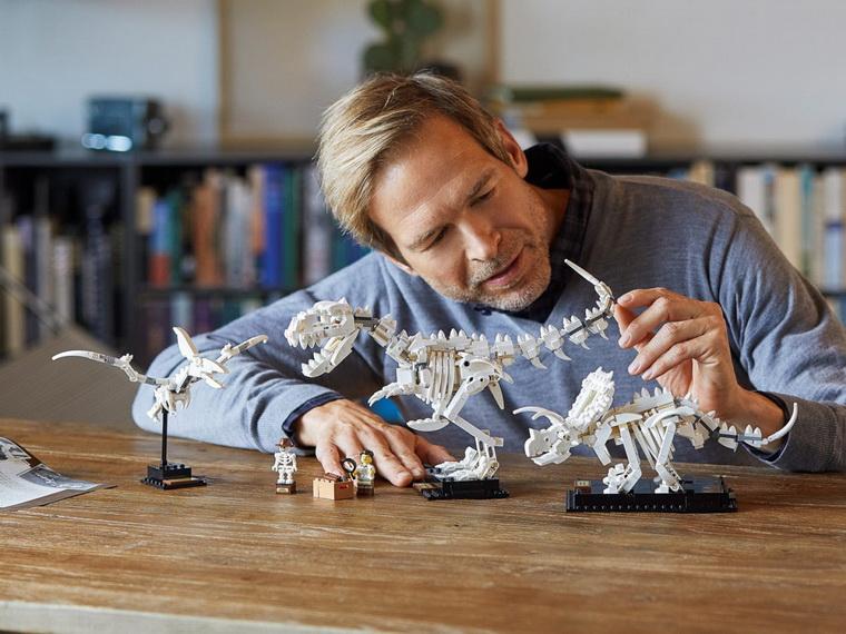 Конструктор LEGO Ideas Останки динозавра-досуг.
