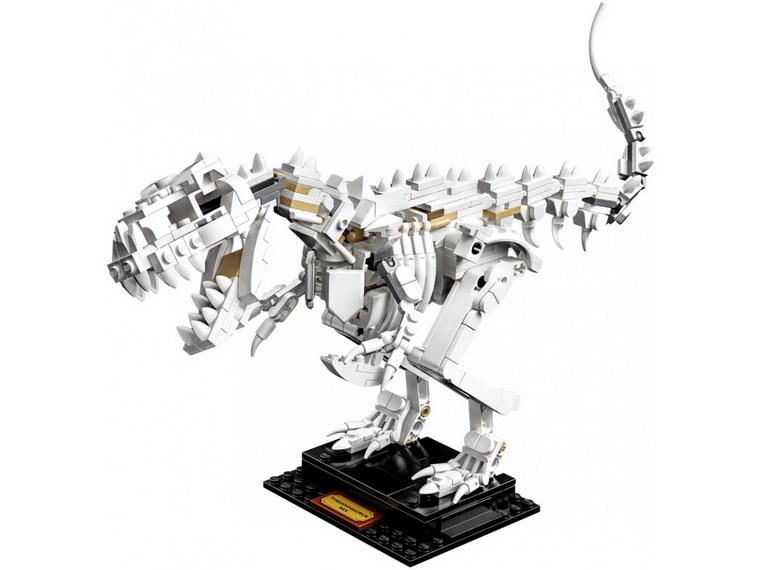 Конструктор LEGO Ideas Останки динозавра-создание музейной экспозиции