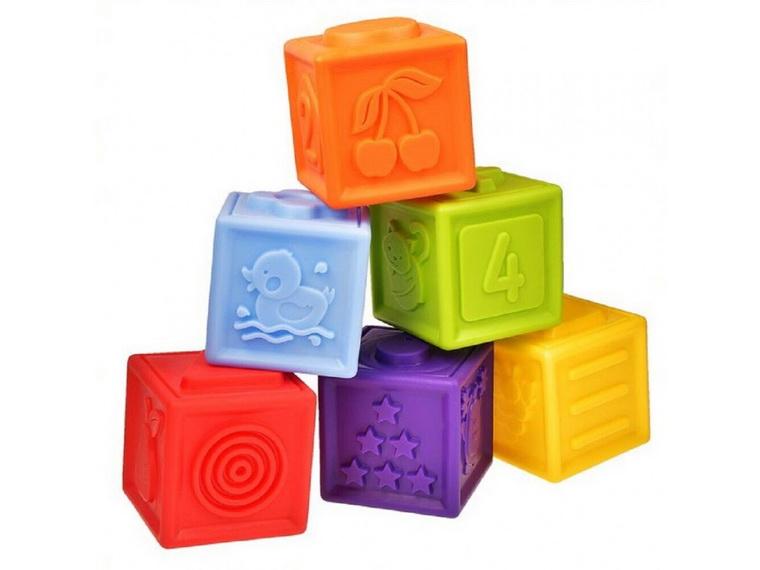 Кубики пластиковые Fancy KUB60-06