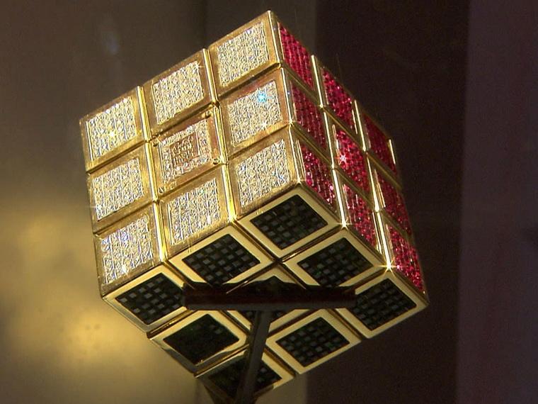 самый дорогой кубик Рубика