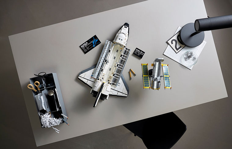 LEGO Space Shuttle Discovery сборка