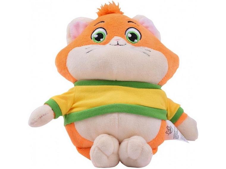 Мягкая игрушка герой 44 Cats Фрикадель с музыкой.