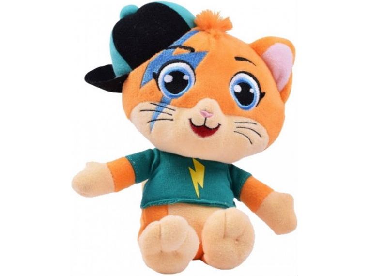Мягкая игрушка герой 44 Cats Спалах с музыкой.