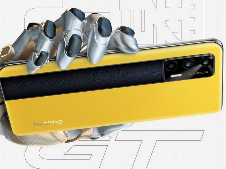 Realme GT-на Snapdragon 888.