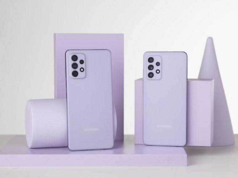 Samsung Galaxy A72 и Galaxy A52-новинки.