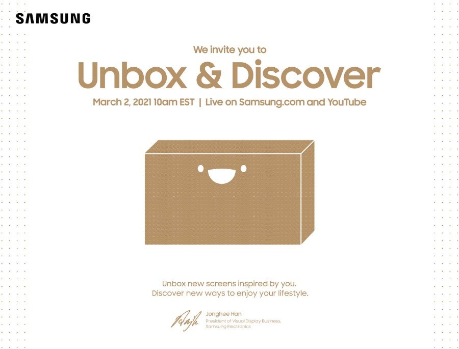 Samsung-Unbox Discover.