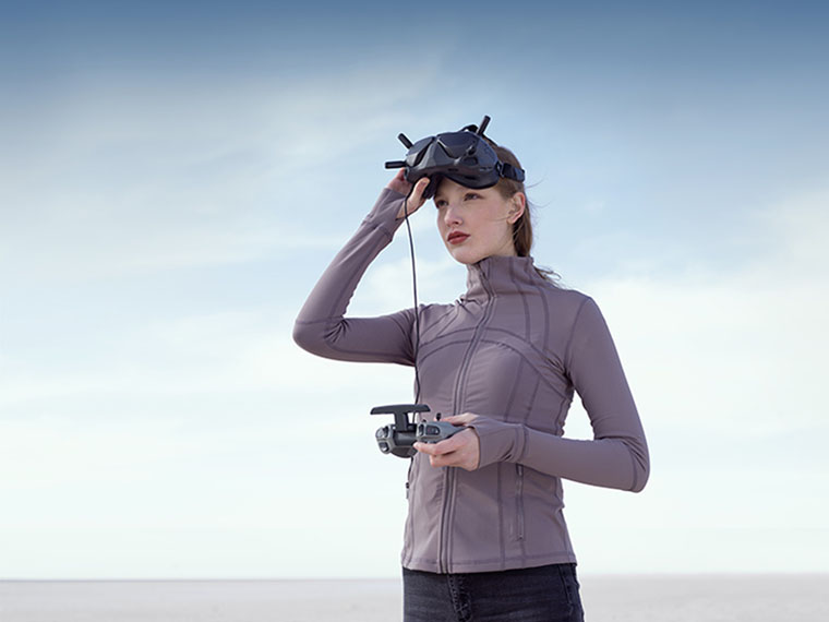 Виртуальные очки DJI FPV V2