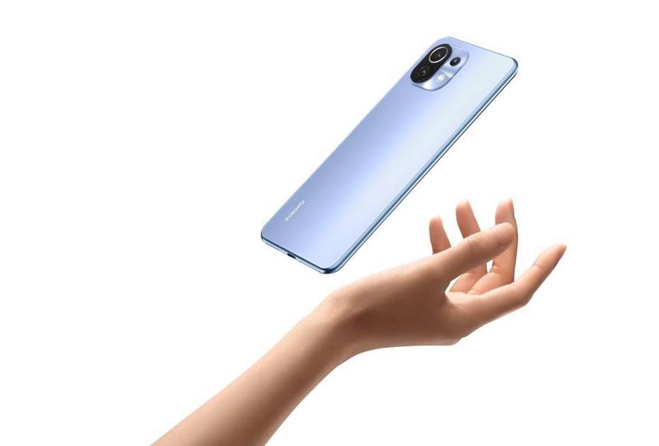 Xiaomi Mi 11 Lite-легкий корпус