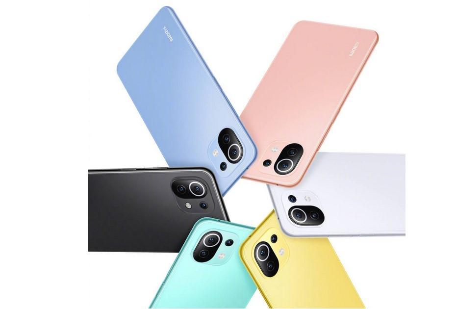 Xiaomi Mi 11 Lite-расцветки новинки