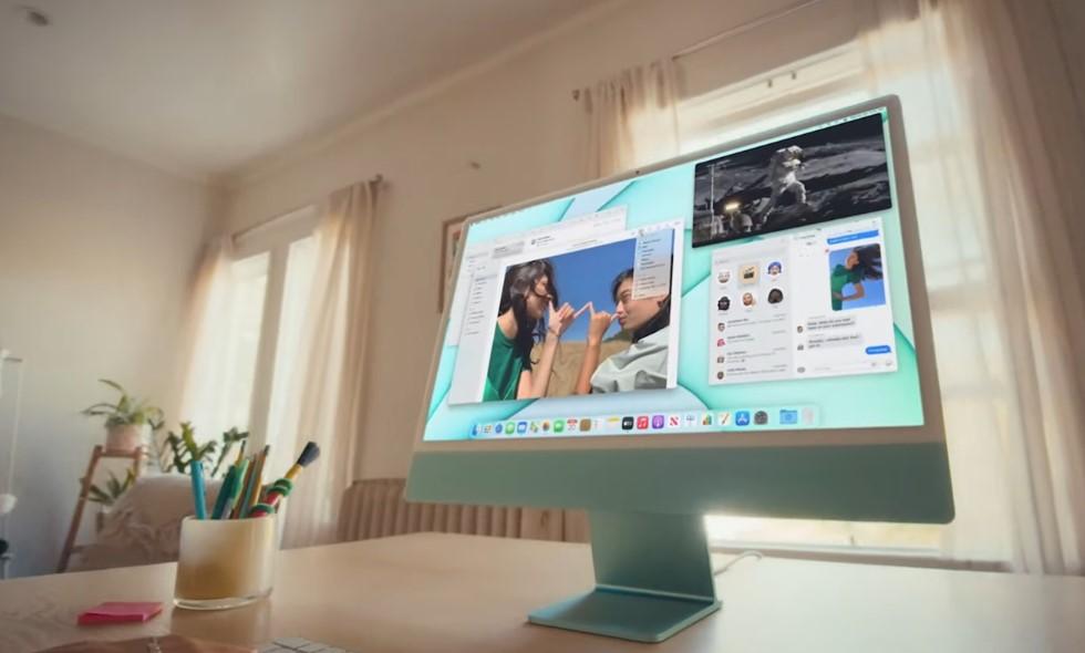 Apple-новые iMac.