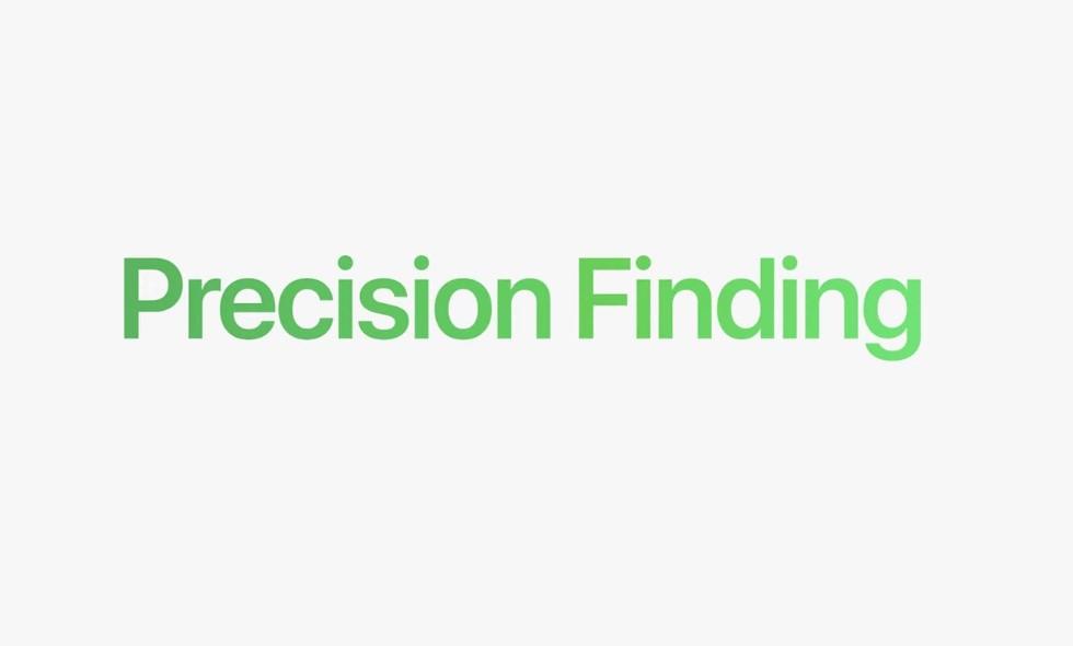Беспроводные метки AirTag-функция Precision Finding