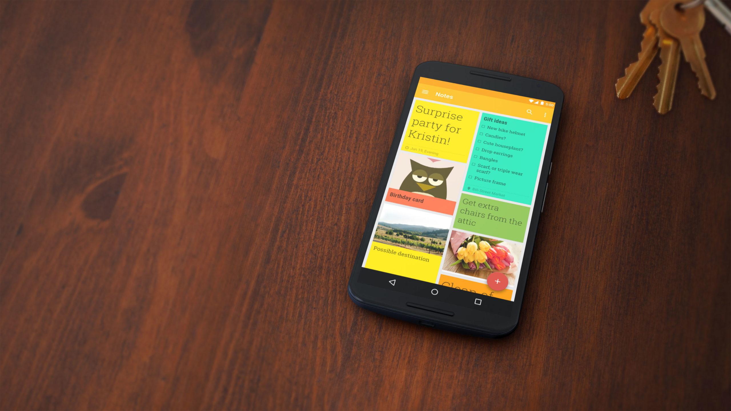 Google Keep — отличное кросс-платформенное приложение