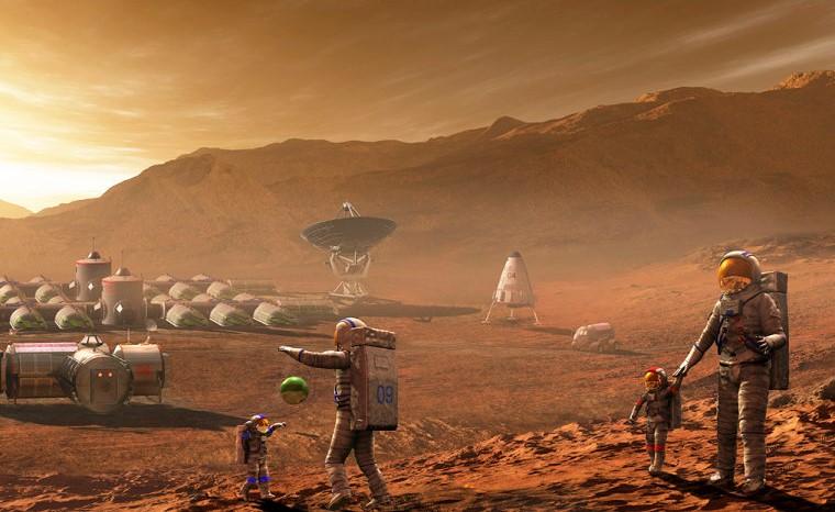 Колонизация Марса-будущее космонавтики