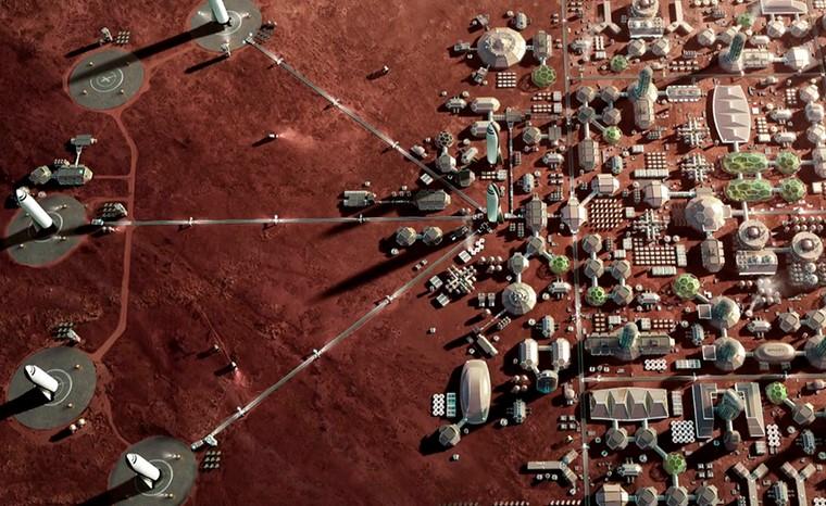 Колонизация Марса-планы