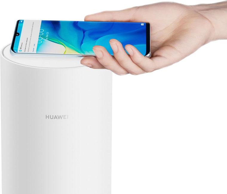 Подключение через NFC
