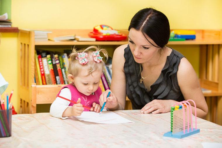 Рисование с ребенком