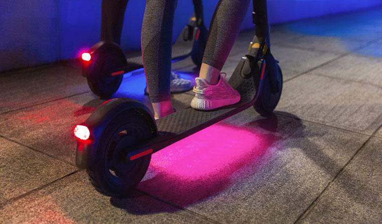 Segway Ninebot E25E колеса