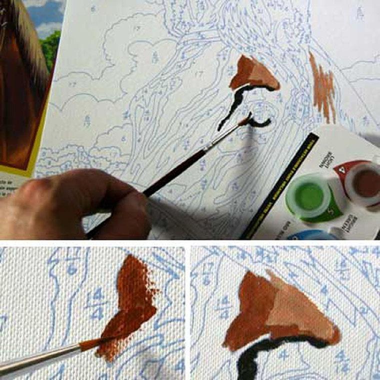 Схема рисования