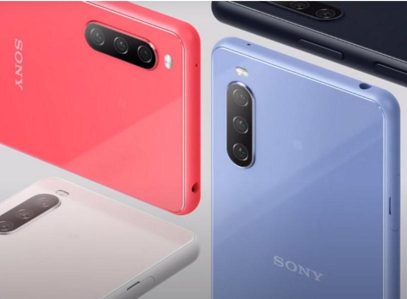 Sony Xperia 10 III-расцветки