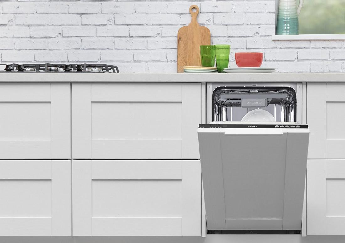 Узкая посудомоечная машина