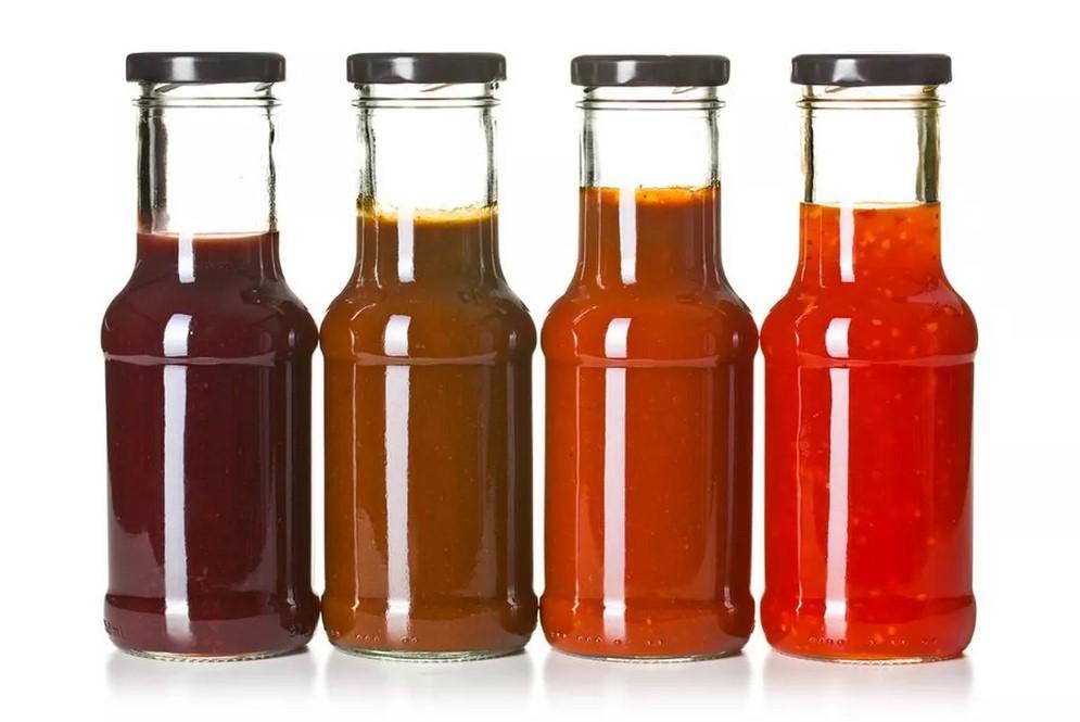 Кетчуп и томатный соус-содержание сахара.