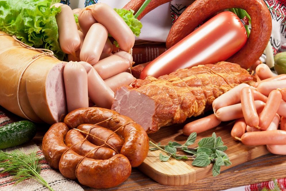 Колбасно-сосисочные изделия-содержание сахара