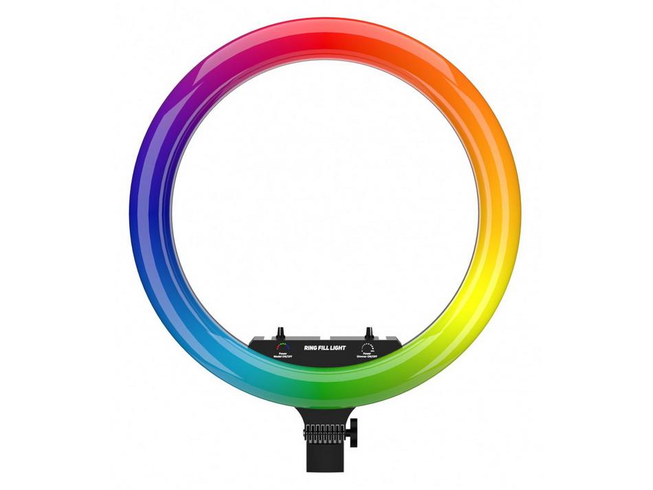 Lovely Stream-кольцевая LED-лампа цвет режимы.