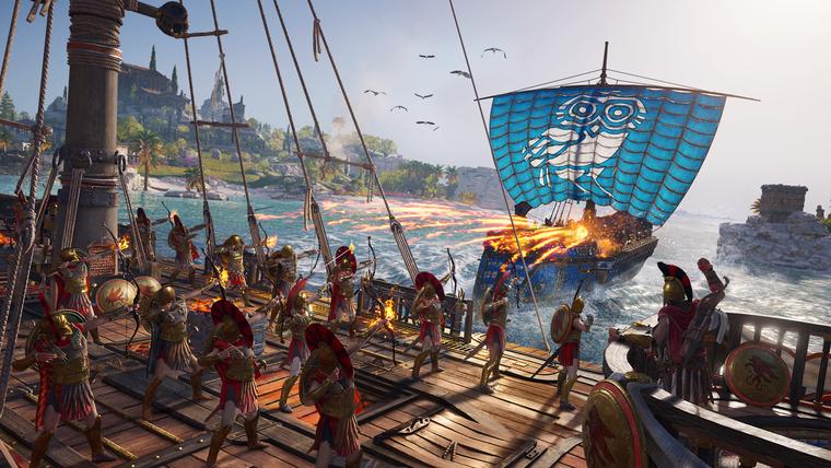 Не только у самого главного героя, но и у его корабля есть особые возможности, полезные для боя (1)