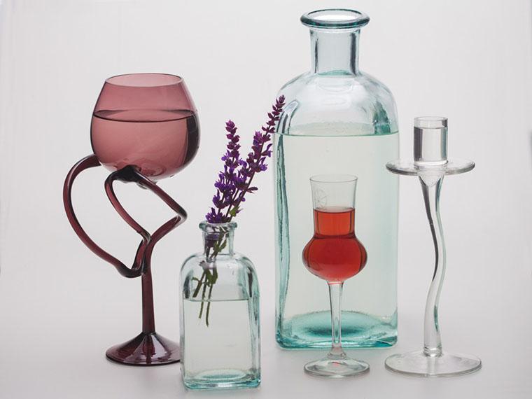 Разные виды бокалов