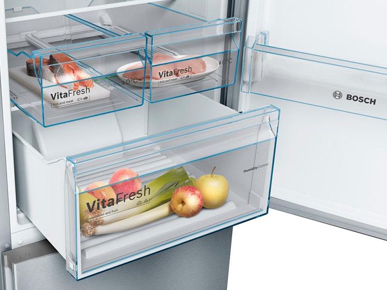 Холодильник Bosch KGN39VI306 боксы свежести