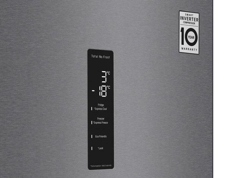 Холодильник LG GA-B509SLKM панель управления