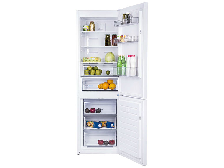 Холодильник Vestfrost CNF186ZW внутри