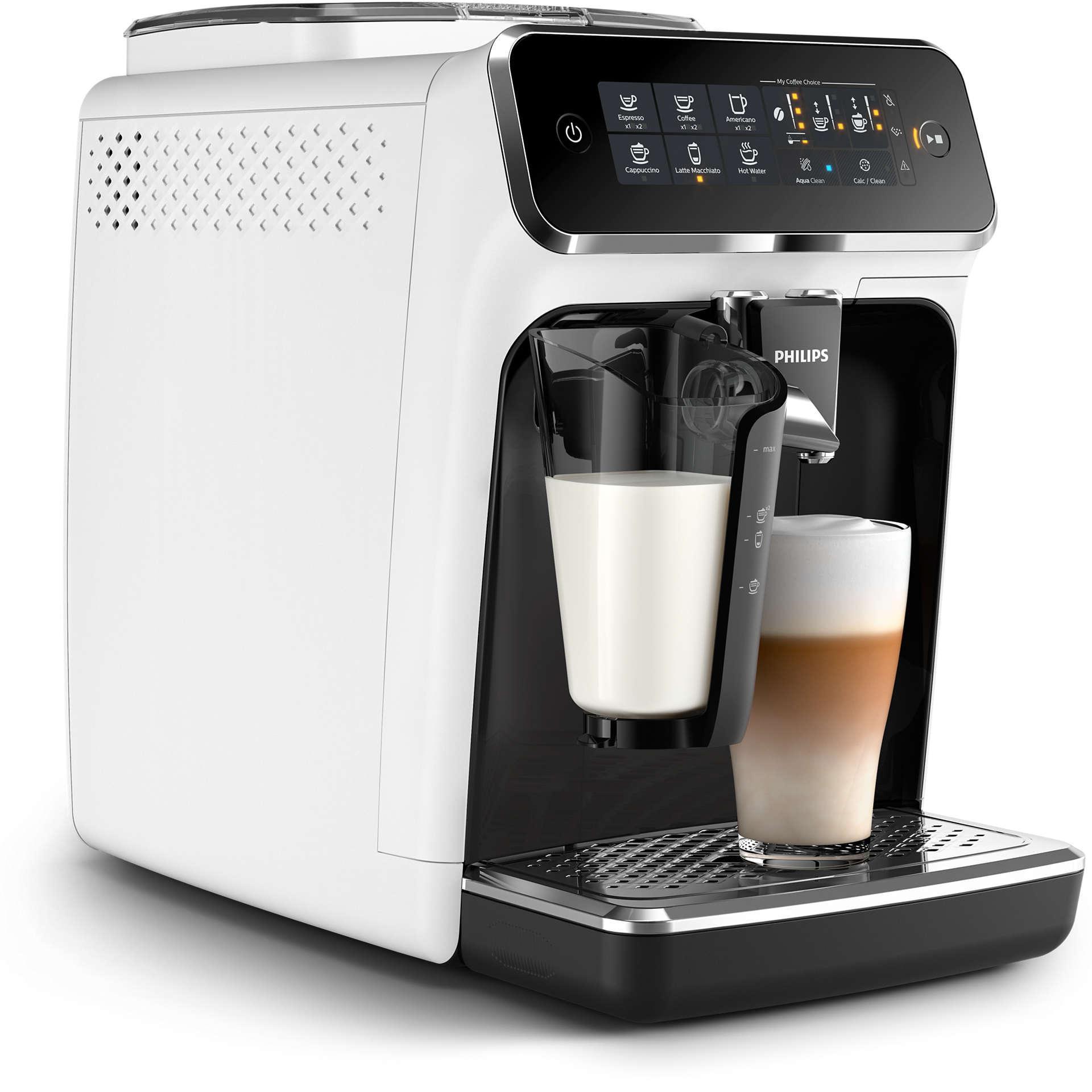 кофемашина филипс белая