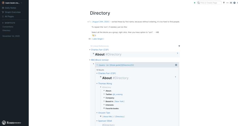 Dynalist позволяет неограниченно пользоваться списками