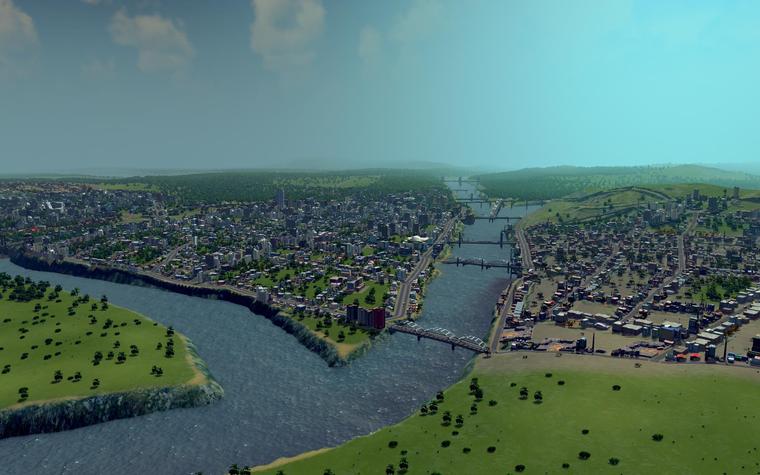 Cities Skylines — классический градостроительный симулятор, который позволит ощутить все сложности управления городом (1)