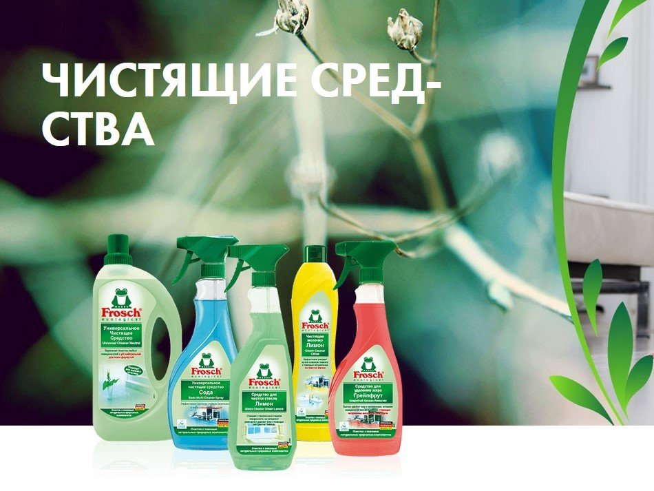 Frosch-чистящие средства