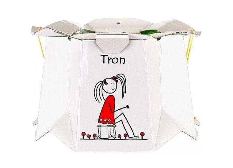 Горшок детский Tron одноразовый