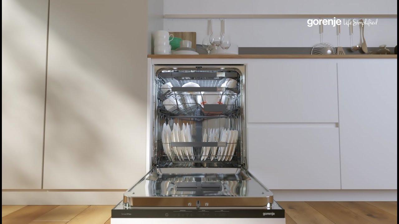 Посуда в посудомоечной машине горение