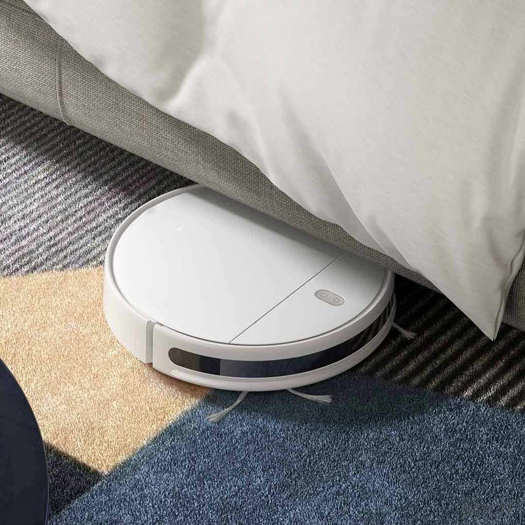 пылесос сяоми под кроватью