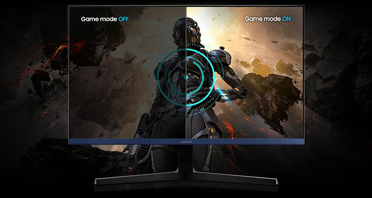 Монитор Samsung S24R358F (LS24R358FHIXCI) игровой режим