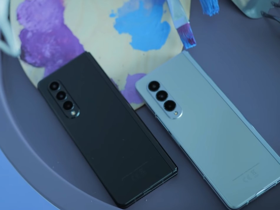 Samsung Galaxy Z Fold 3-расцветки новинки