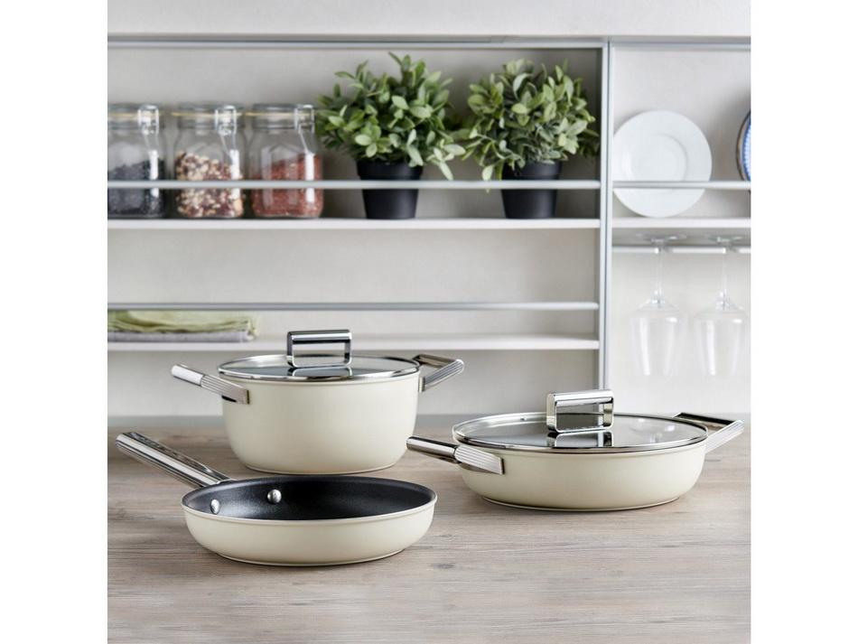Смег-посуда сковороды и кастрюли