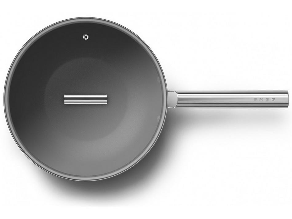 Smeg-вок сковорода прозрачная крышка