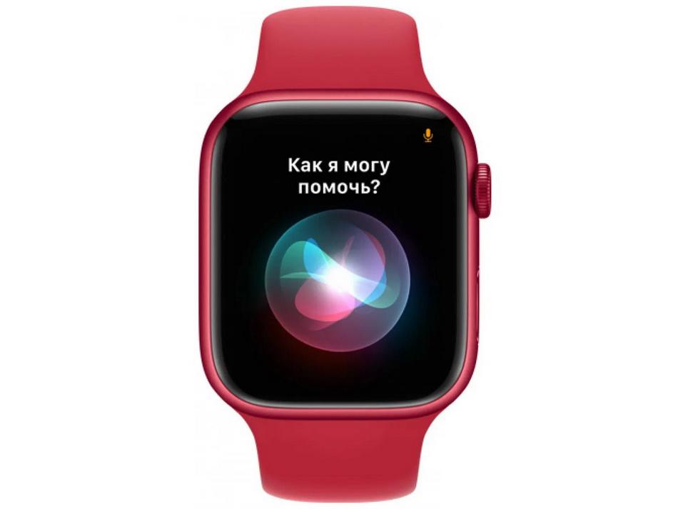 Apple Watch Series 7 41mm PRODUCT(RED) Aluminium Case-экран и функциональность