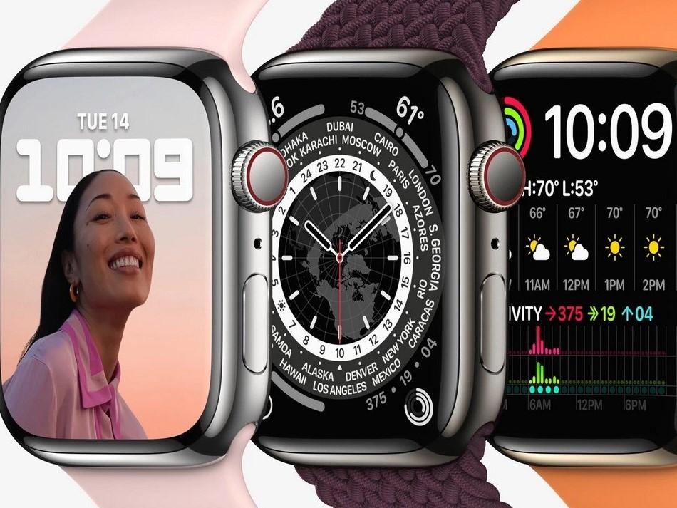 Apple Watch Series 7-циферблаты