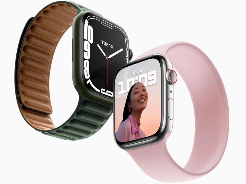 Apple Watch Series 7-новинка.